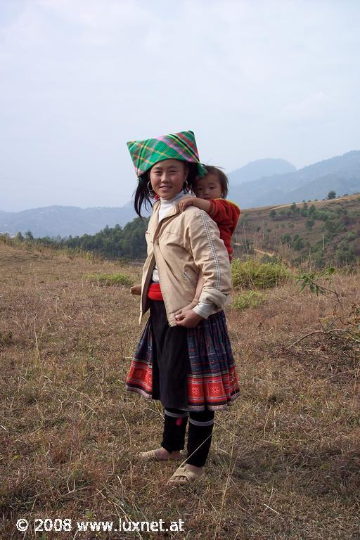 Hilltribe woman