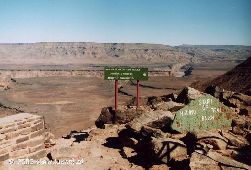 Hells Corner (Fish River Canyon)