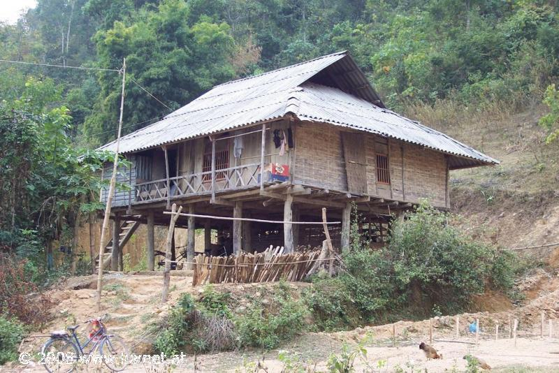 House in the Dien Bien province