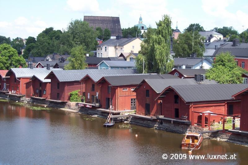 Old Riverside Houses, Porvoo