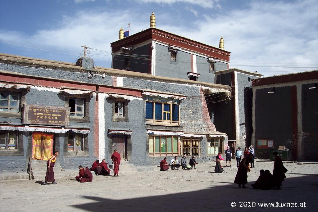 Debating Monks, Sakya Monastery (Tsang)