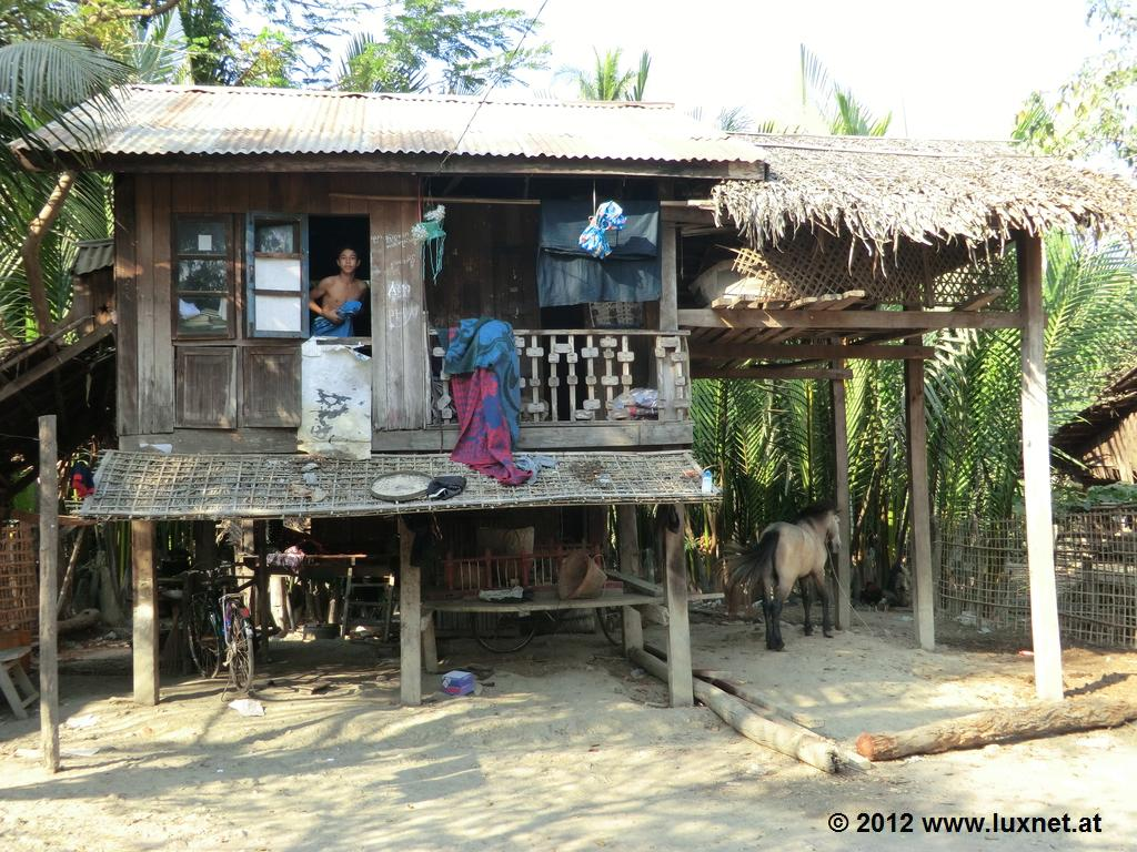 Typical House (Mrauk U)