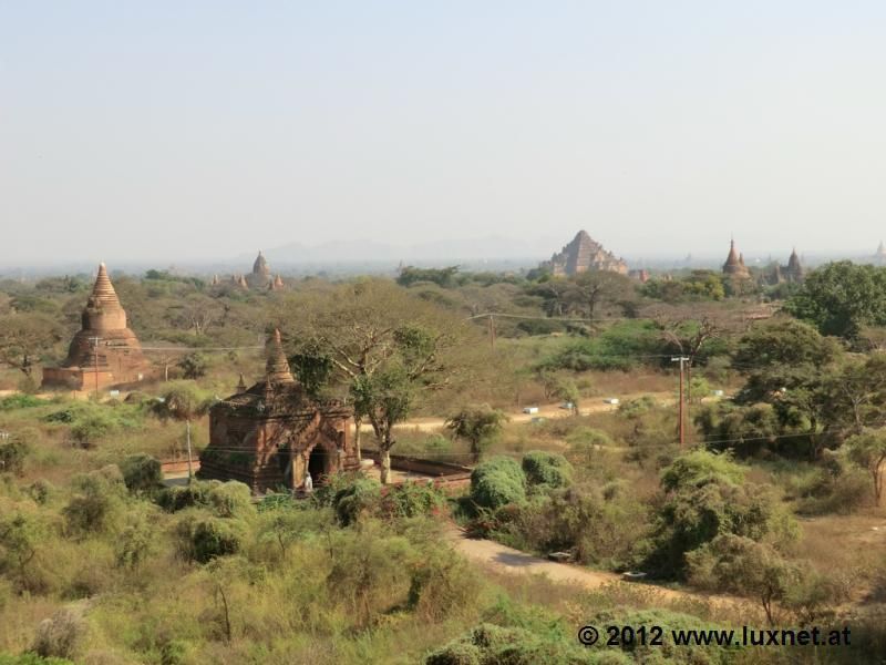 Temple Scenery (Bagan)
