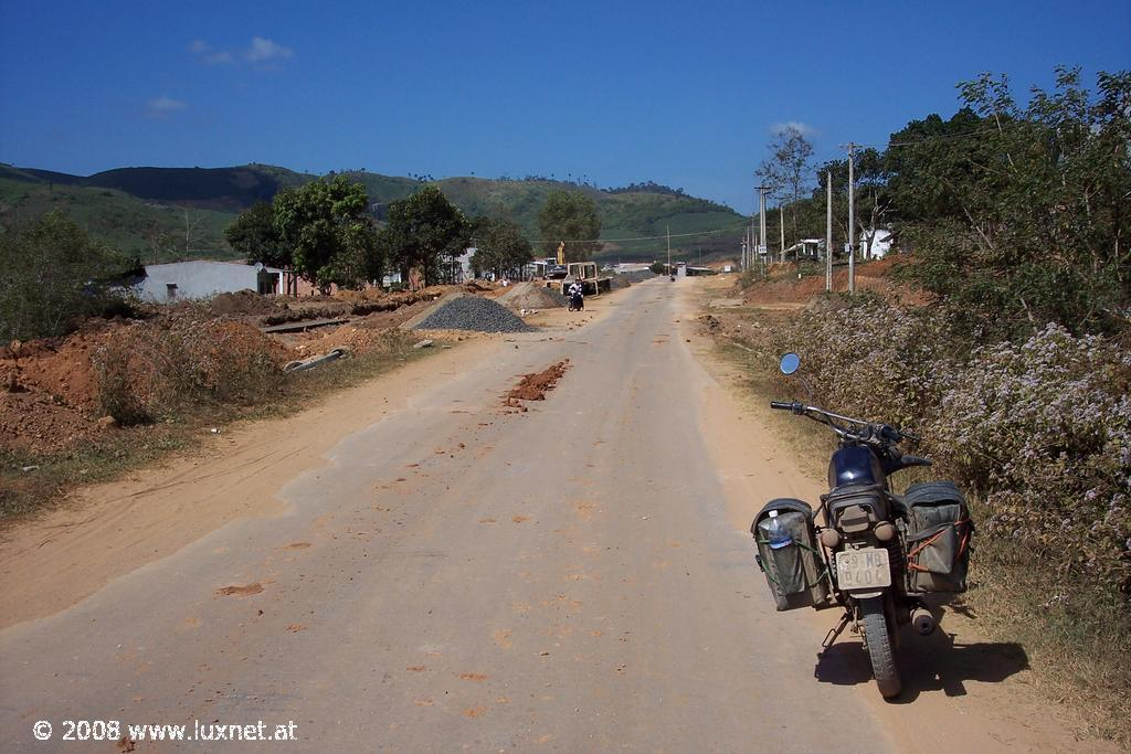 Near Bo Y (Border to Laos)